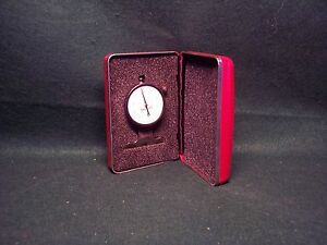 Starrett No 643 Dial Depth Gage 0005 Grad 125 Range W case