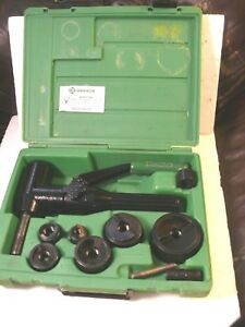 Greenlee Quick Draw 90 7904sb Hydraulic Punch Driver Set 1 2 2 In Knockout Set