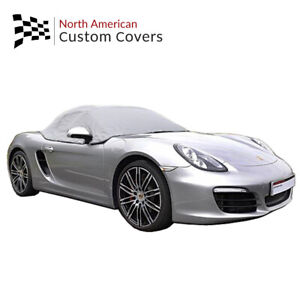 Rp288g Porsche Boxster 981 Convertible Soft Top Roof Half Cover 2012 To 2016