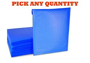 4 9 5x14 5 Blue Poly Bubble Mailers Shipping Mailing Padded Envelopes 9 5x13 5
