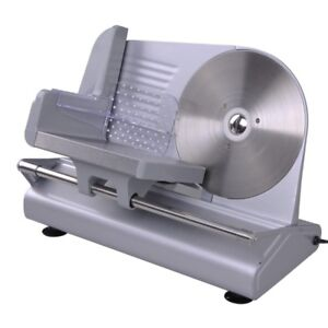 Electric Meat Slicer Stainless Steel Blade Bread Cheese Cutter Food Machine 150w