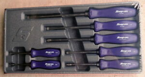 New For 2018 Snap On 7 Piece Purple Hard Handle Screwdriver Set Sddx70adp