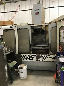 Haas Vf 4 1994 Cnc Vertical Machining Center Vf4