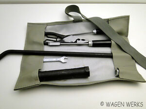 Vw Bug Tool Roll Kit Bug Grey
