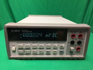 Agilent 34401a Dmm 6 Digit tested