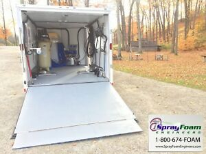 Graco E20 Spray Foam Rig W Fusion Gun high Quality Contractor Foam Trailer