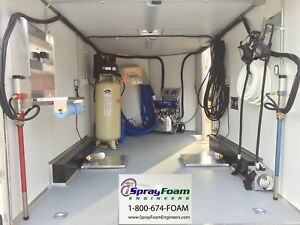 Graco E20 Spray Foam Rig W Upgrades affordable High Quality Foam Trailer