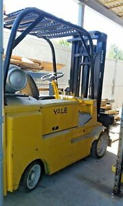 Yale Forklift Maximum Capacity 8000 Lbs Propane