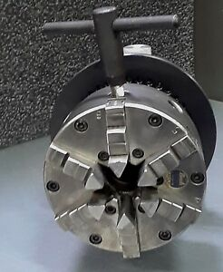 6 jaw Buck Chuck 5c Collet Mounting With Phase Ii Indexing Spin Fixture