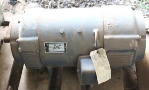 Baldor 10 Kw Dc Generator Recently Rebuilt Heavy Equipment Use Magnet