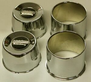 4 Blems American Racing Center Caps Ss For 6 Lug Chevy Truck Short 4wd 4 25