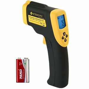 Etekcity Lasergrip 800 Digital Infrared Thermometer Laser Temperature Gun Non co