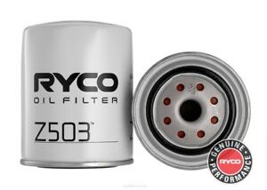 Ryco Oil Filter For Nissan Patrol 1992 1997 4 2 D Gq Cab Chassis Diesel Z503