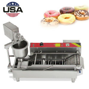 Automatic Donut Maker Mini Donut Maker Making Machine Stainless Steel 1100pcs h