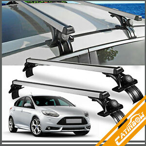 Universal Car Top Roof Cross Bar Luggage Cargo Carrier Rack Suv 3 Kinds Clamp