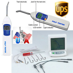 Fast Dental Apex Locator Finder Root Canal Endodontic Pulp Tester Testing Nerve