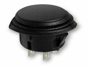 20a On off Switch Push Button Black 4p Dpst On off 14vdc 2pack