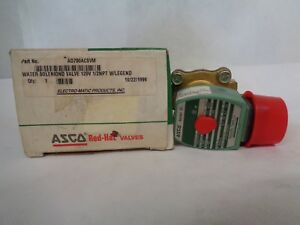 New Asco Ad700acsvm Water Solenoid Valve 2 way 1 2 Npt 120 V Coil