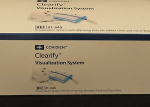 2 Units New Covidien 4 2019 Date Clearify Visualization System Ref 21 345