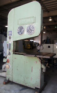 Doall 36 Vertical Metal Cutting Band Saw W 36 Table 10 hp
