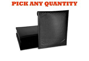 2 8 5x12 Black Poly Bubble Mailers Shipping Mailing Padded Envelopes 8 5 x11