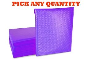 4 9 5x14 5 Purple Poly Bubble Mailers Shipping Mailing Padded Envelopes 9 5x13