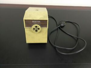 Vintage Boston Commercial Electric Pencil Sharpener Model 41 Free Shipping