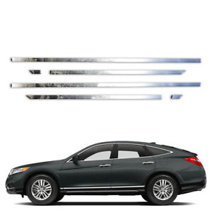 6p Stainless 1 Side Molding Fits 2011 2015 Honda Crosstour By Brighter Design