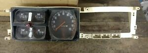 Vintage Plymouth Trailduster Instrument Gauge Cluster 4x4 Oem 1976