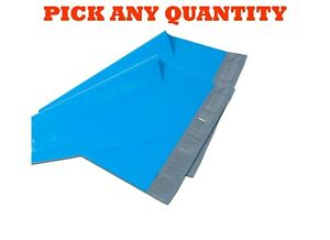 12x15 5 Blue Poly Mailers Shipping Envelopes Self Sealing Mailing Bags 12 X 15