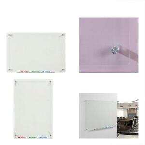 Clear Dry Erase Boards Glass Dry erase 23 5 8 X 35 1 2 Includes And Aluminum