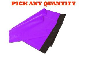 4x6 Purple Poly Mailers Shipping Envelopes Self Sealing Mailing Bags 4 X 6