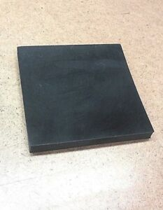Neoprene Rubber Sheet Solid 3 8 Thk X 4 1 2 Square Mounting Pad 60 Duro