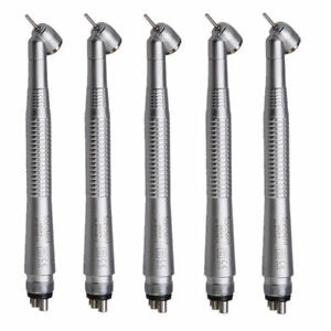 5x Nsk Style Dental 45 Degree High Speed Push Turbine Handpiece 4hole Dentist C4