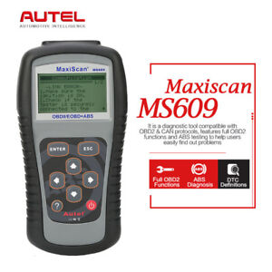 Autel Maxiscan Ms609 Obd2 Can Auto Diagnostic Tool Code Reader Scanner As Al519