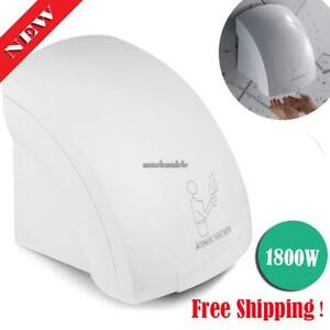 Homdox Automatic Infared Sensor Hand Dryer Warm Air Electric Wall Clsv