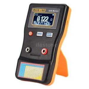 New Lcd Professional Auto ranging Capacitor Esr Ohm Meter In Circuit Tester Q7m5