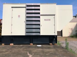 Tier 3 2009 Baldor Diesel Generator Any Voltage 120 208 480v Series 60 Detroit