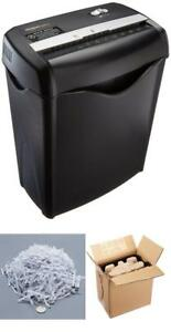 Cross Cut Paper Shredder Destroy Credit Card 6 Sheet Cross Cut For Business Home