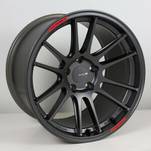 Enkei Gtc01rr 18x9 5 5x114 3 35mm Matte Gunmetal Wheel 504 895 6535gm