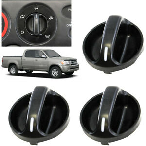 3 Pack Quality Ac Climate Control Knob Replaces Fits Toyota Tundra 55905 0c010