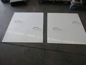 90 Fadal 4020 Ht Cnc Vertical Mill Side Door Cover W Handle 42 Each