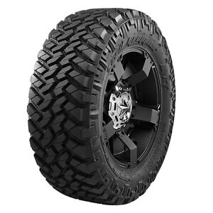 4 New 355 40r22 Nitto Trail Grappler Mud Tires 3554022 40 22 R22 12 Ply M T Mt