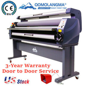 63 Entry Level Full Auto Wide Format Heat Assisted Cold Laminator Usa Stock