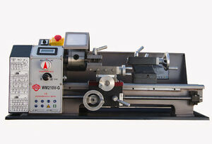 Wm210v g Metal Lathe Brushless Motor Lathe Machine Stepless Variable Speed