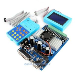 Upgraded 3axis Cnc Diy Tb6560 Stepper Motor Driver Set lcd Display control Pad