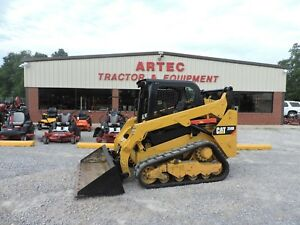 2015 Caterpillar 259d Skid Steer Loader Bobcat Multi Terrain Low Hours