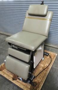 1980s Ritter Sybron 8525 Power Exam Examination Table Procedure Chair fa9900021
