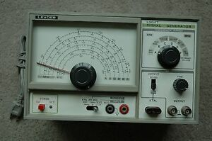 Leader Lsg 17 Wide Band Signal Generator Made In Japan
