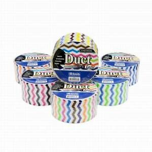 Pack Of 36 Rolls Bazic 1 88 X 5 Yards Chevron Series Duct Tape